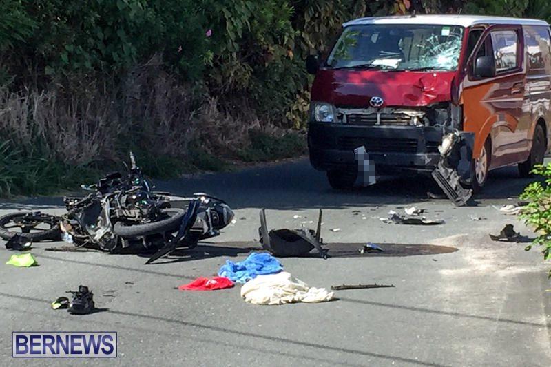 Bike Van Collision Bermuda, July 26 2016-2