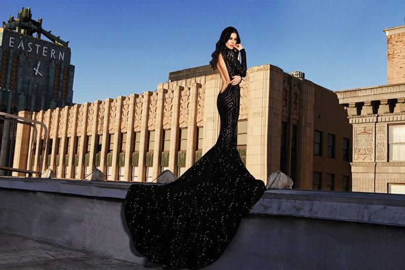 Black Widow gown2