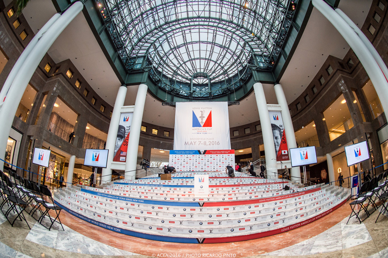 Media Day -1 of Louis Vuitton America's Cup World Series New York