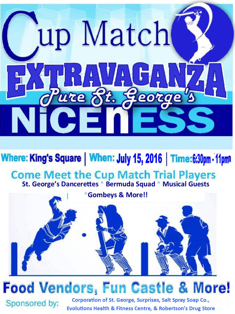 Cup Match Extravaganza Bermuda July 2016