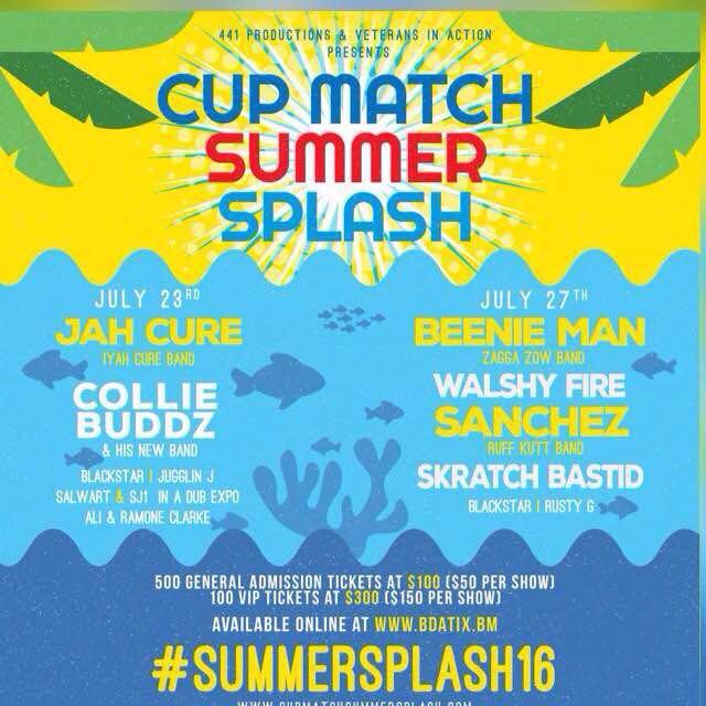 Cup Match Summer Splash July 20