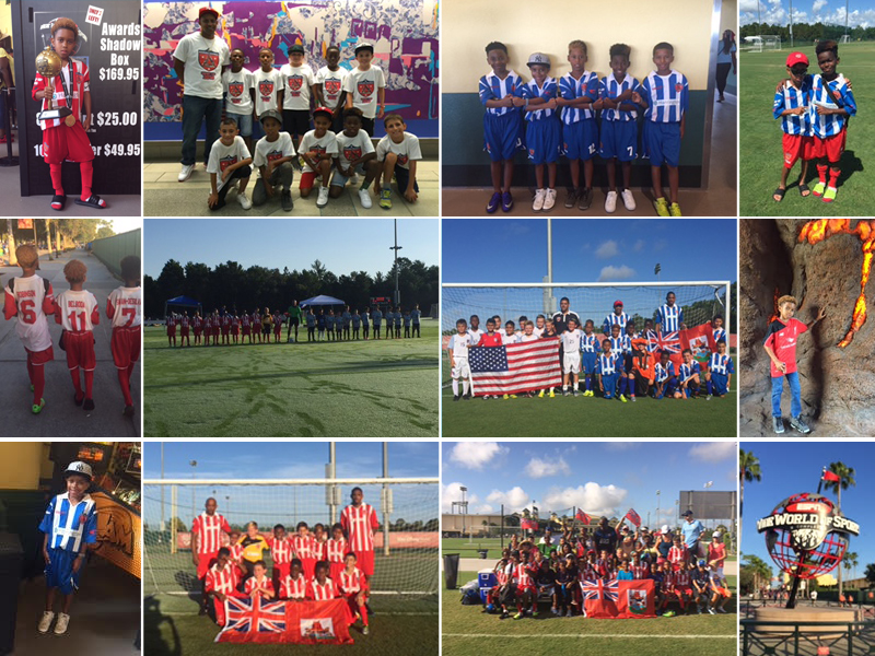 Disney Cup Soccer Tournament for U9s Bermuda July 2016