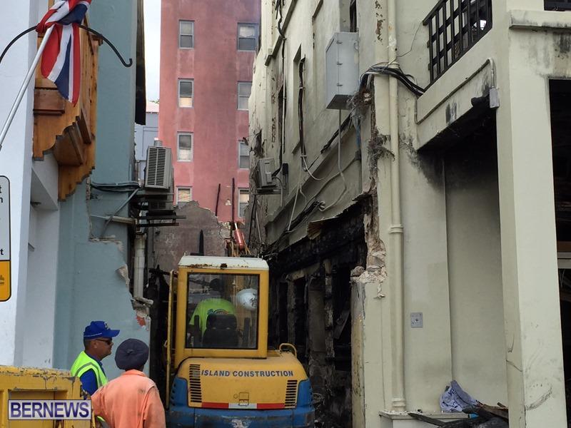 Fire demolition work July 22 (10)