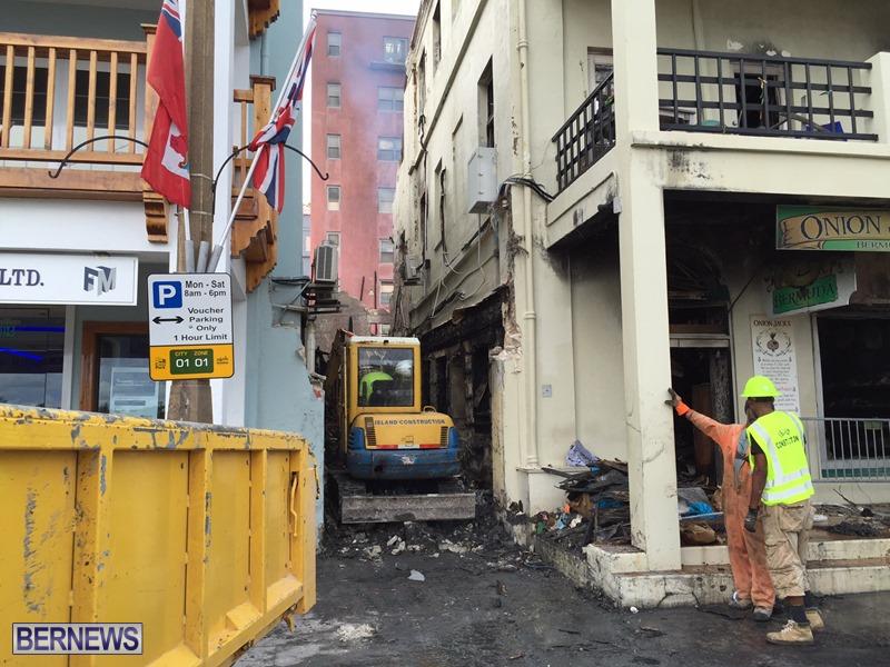 Fire demolition work July 22 (5)
