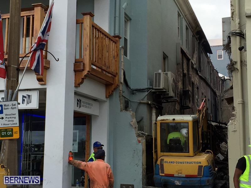 Fire demolition work July 22 (8)