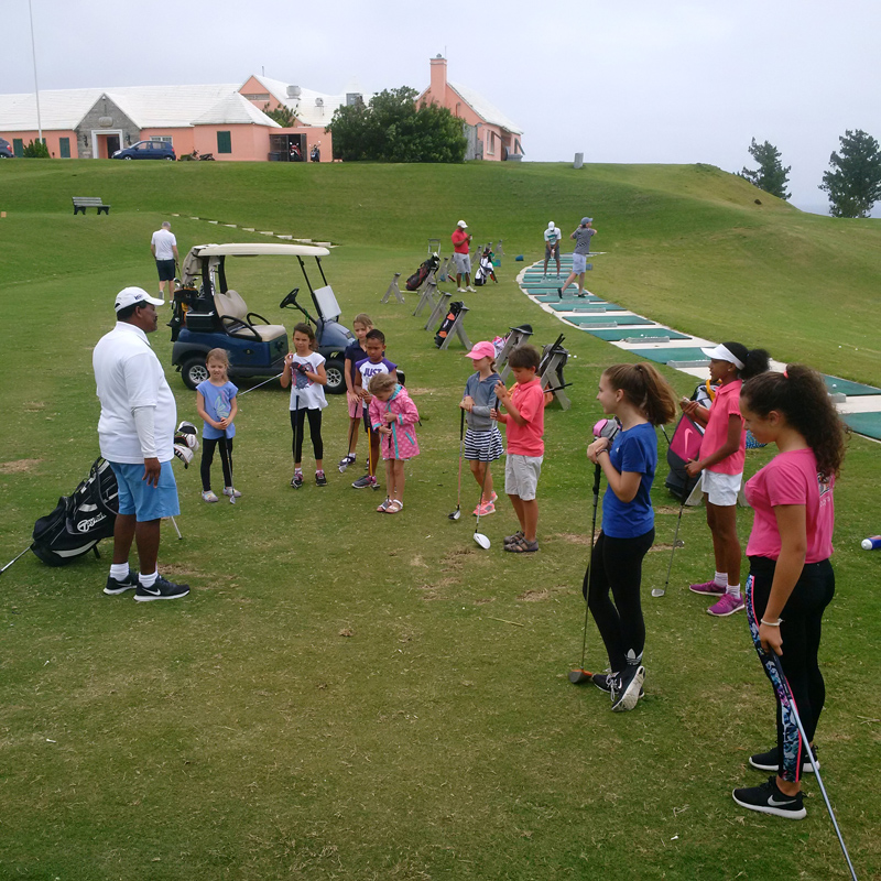 Girlsgolf2 Clinic Bermuda July 7 2016