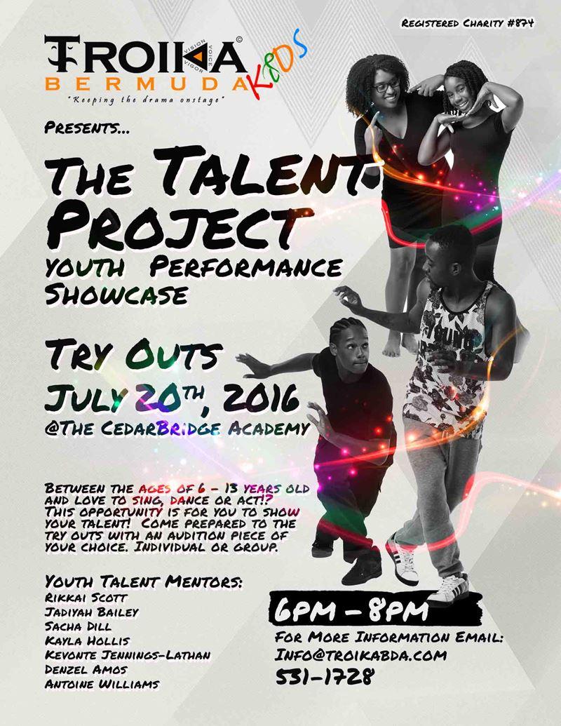 TROIKA Kids TALENT Poster