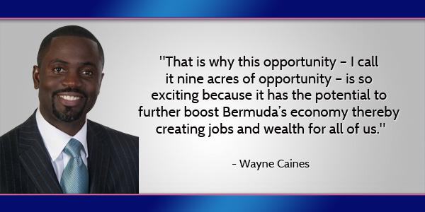 Wayne Caines Bermuda July 11 2016