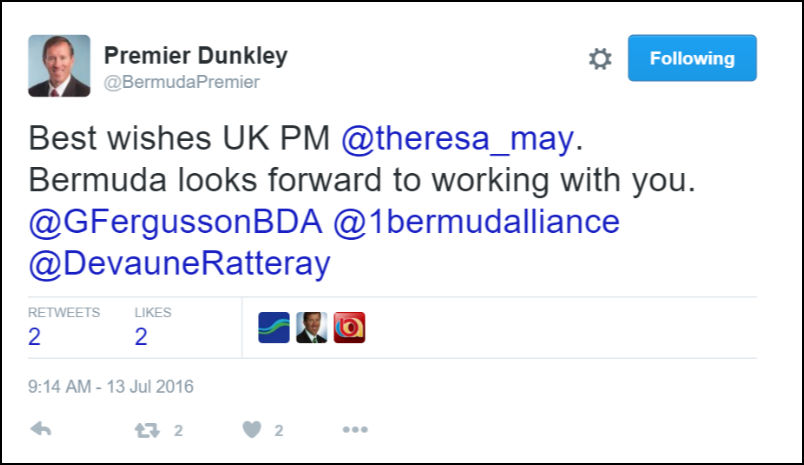 premier-dunkley-theresa-may-tweet-july-13-2016