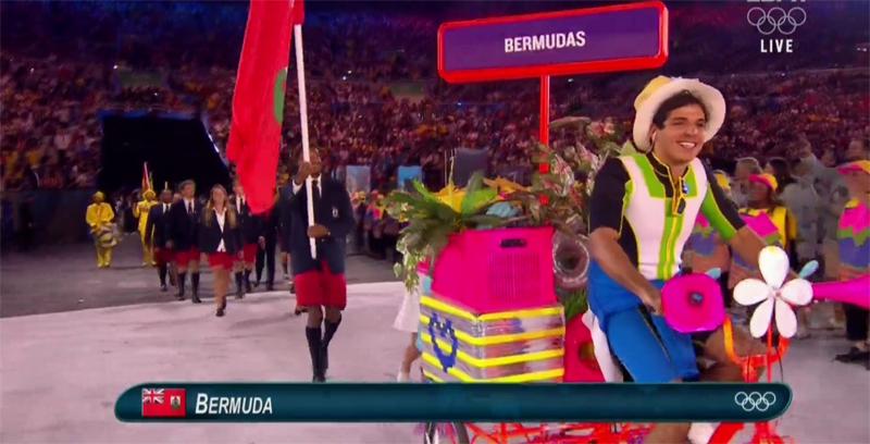 2016 Rio Olympics Parade Bermuda August 5 2016 3