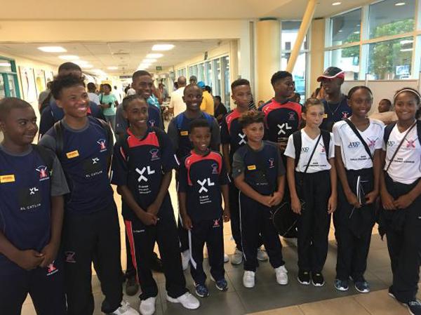 BCB Cricket Players UK Tour Bermuda August 9 2016
