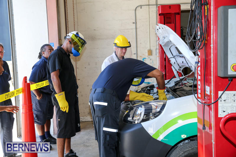 BELCO-Electric-Vehicle-Emergency-Training-Bermuda-August-9-2016-8