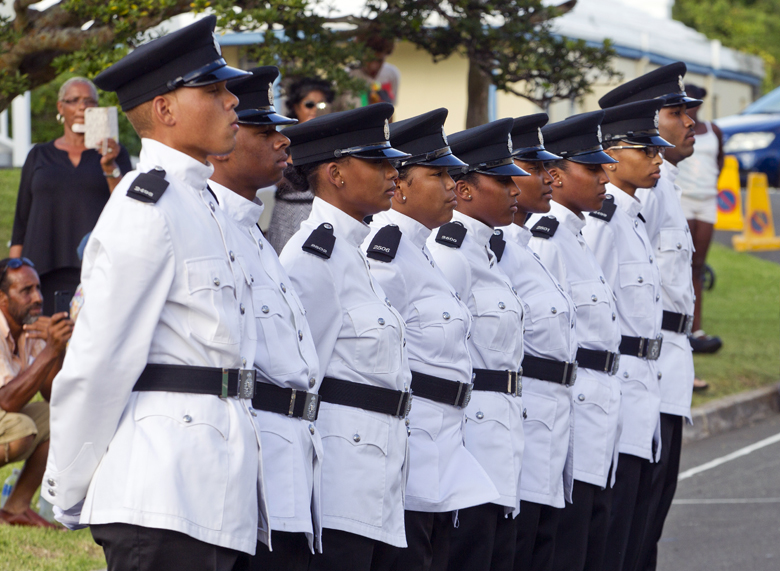 BPS Police Passing Out Parade Bermuda August 2016 (1)