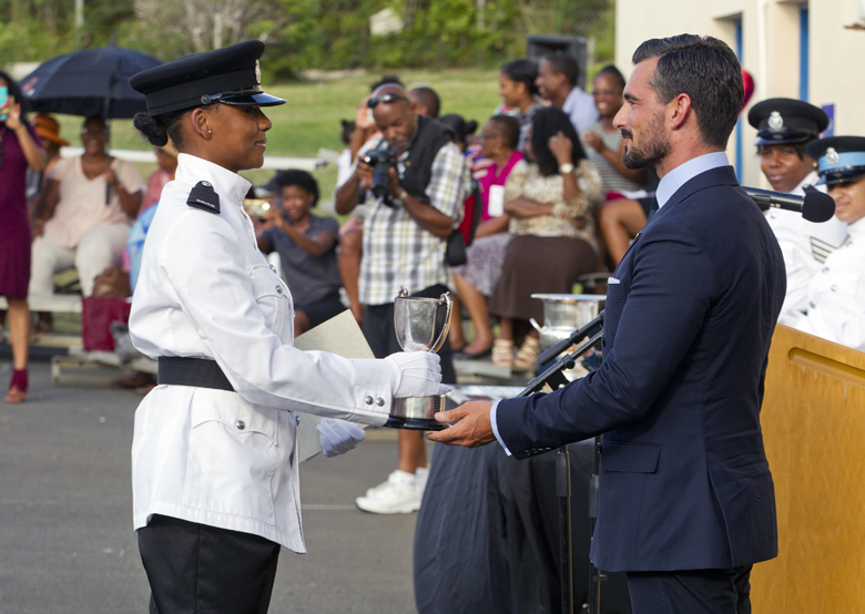 BPS Police Passing Out Parade Bermuda August 2016 (2)