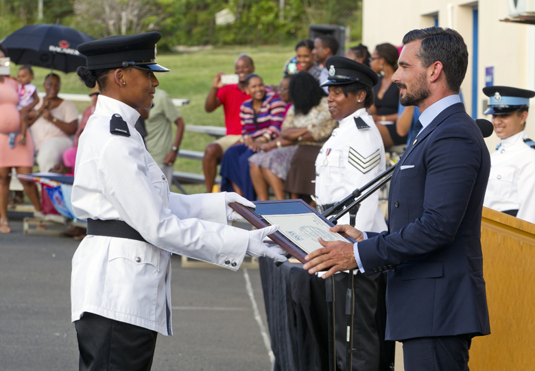 BPS Police Passing Out Parade Bermuda August 2016 (4)