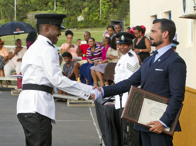 BPS Police Passing Out Parade Bermuda August 2016 (5)