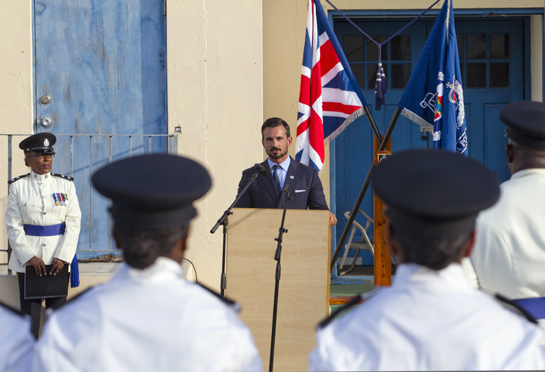 BPS Police Passing Out Parade Bermuda August 2016 (6)