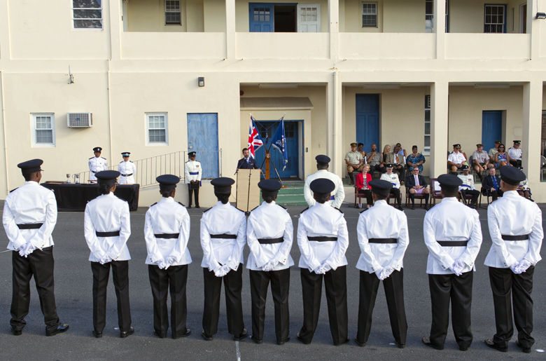 BPS Police Passing Out Parade Bermuda August 2016 (9)