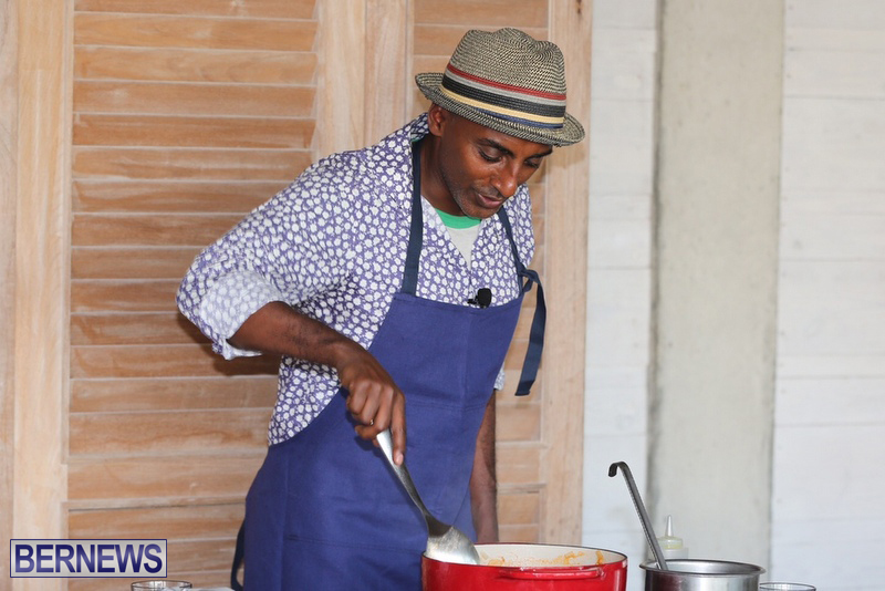 Bermuda Hamilton Princess cooking demo August 2016 (8)