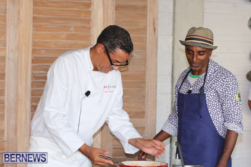 Bermuda Hamilton Princess cooking demo August 2016 (9)