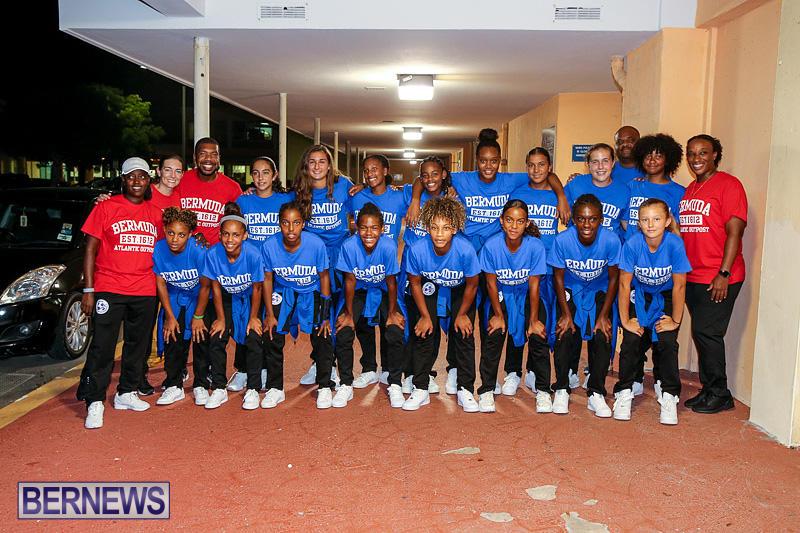 Bermuda U-15 Girls Football Team, August 18 2016-1