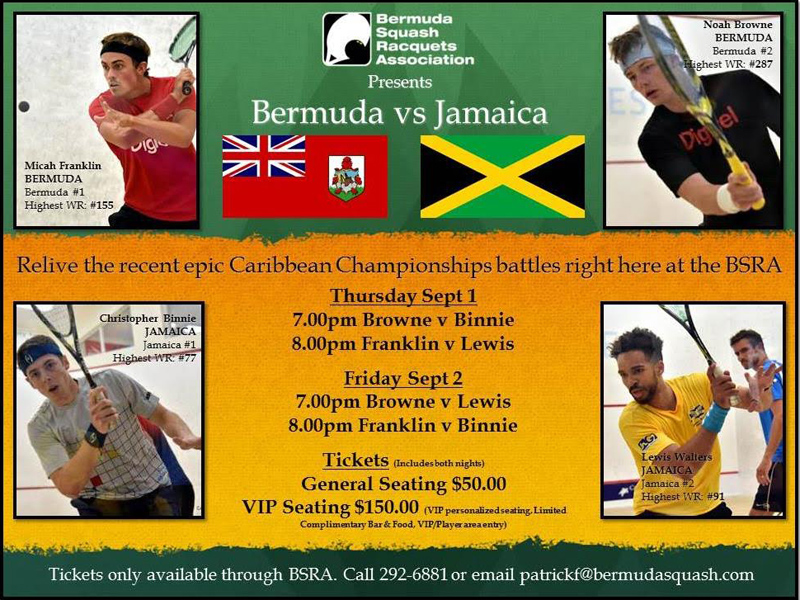 Bermuda vs Jamaica Challenge August 30 2016
