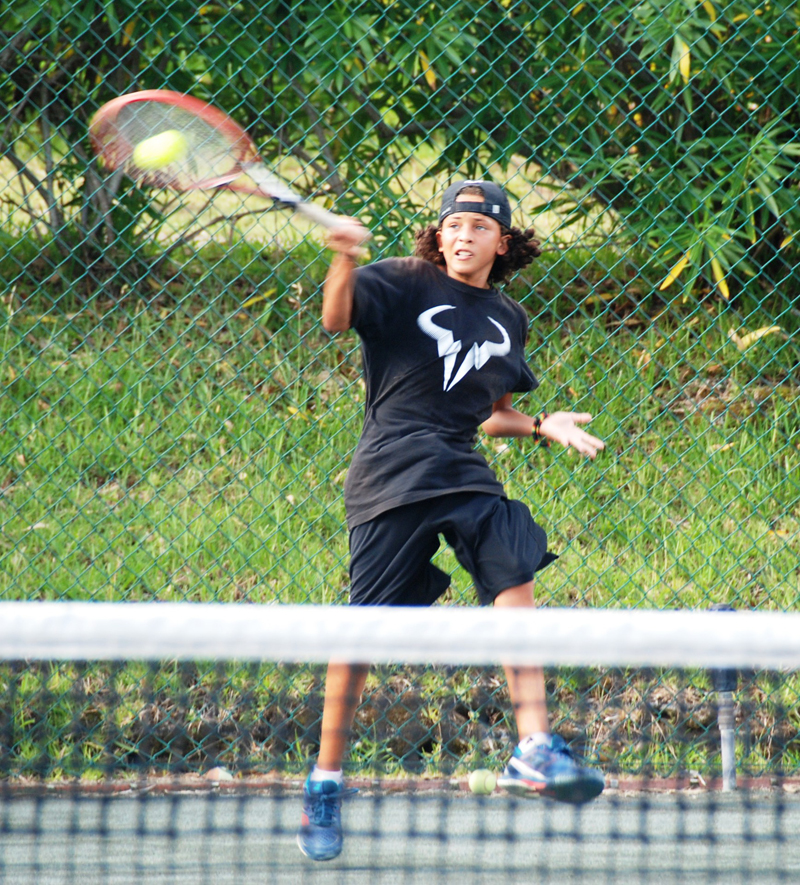 Bermuda Lucky Stone : Event set to aid young bermudian tennis star bernews