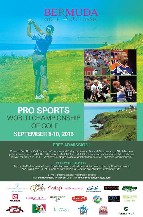 Golf Pro Sports Bermuda August 8 2016
