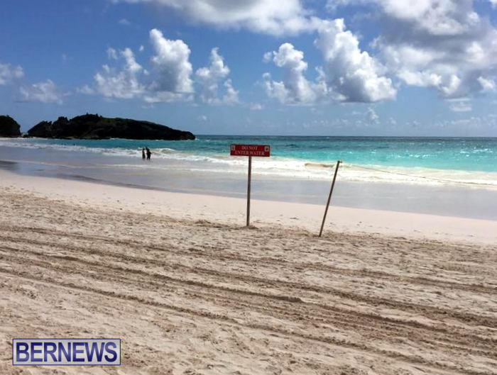 Horseshoe Bay Beach Rip Currents Do Not Enter Water Bermuda (4)