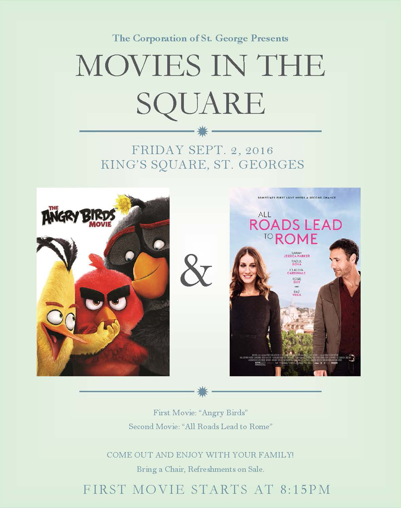 Movie Night Bermuda August 29 2016