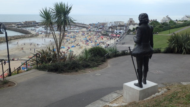 New Statue at Lyme Regis Bermuda August 2016 (4)