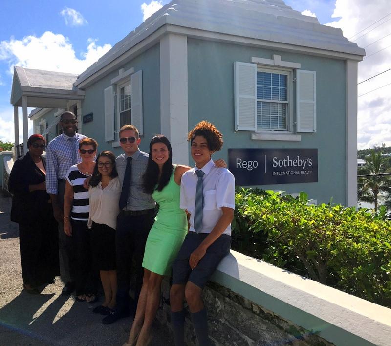 Rego SIR Summer Internship Bermuda August 30 2016 1