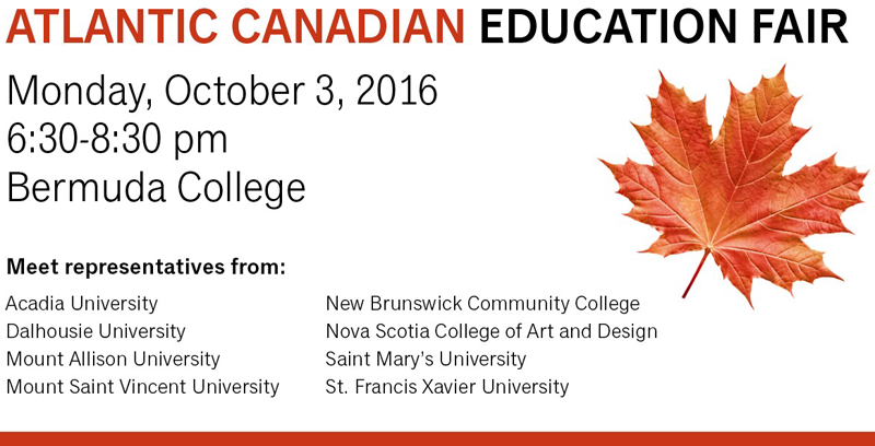 Atlantic Canadian Education Fair Bermuda September 29 2016