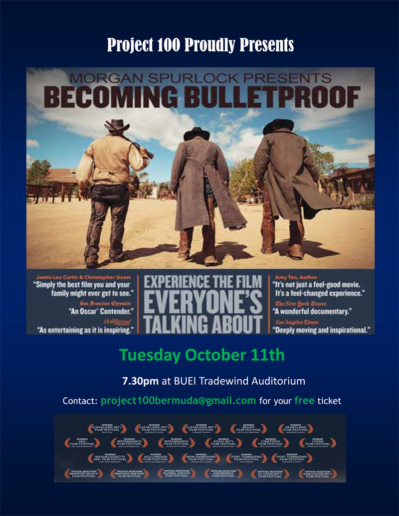 Becoming Bulletproof Poster 2