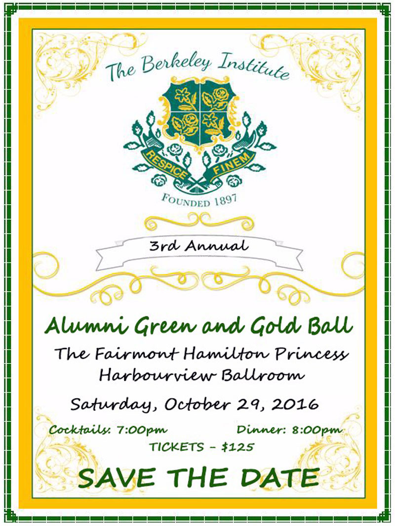 Berkeley - Green And Gold Ball