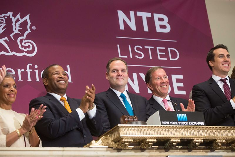 Butterfield IPOOpening Bell NYSE (1)