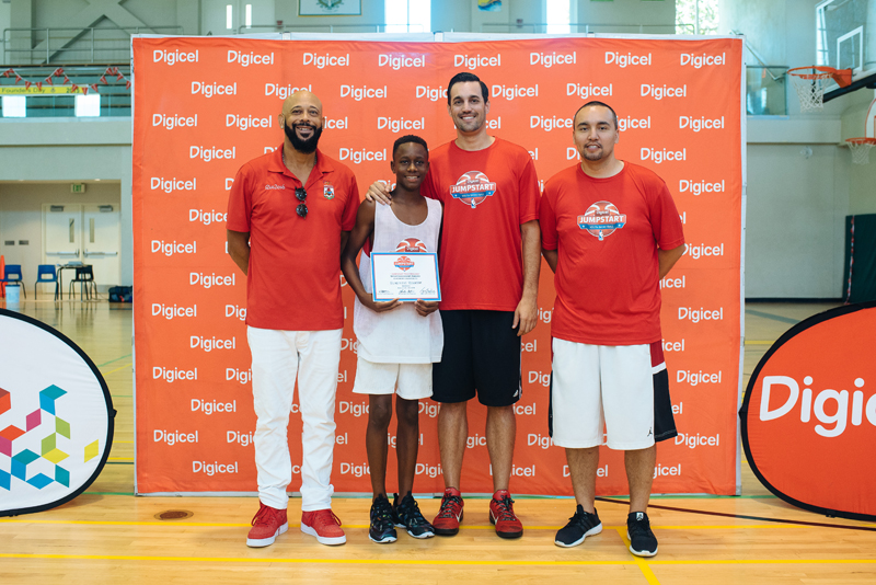 Dimitrius Richardson Digicel Jumpstart Elite Camp Bermuda Sept 6 2016
