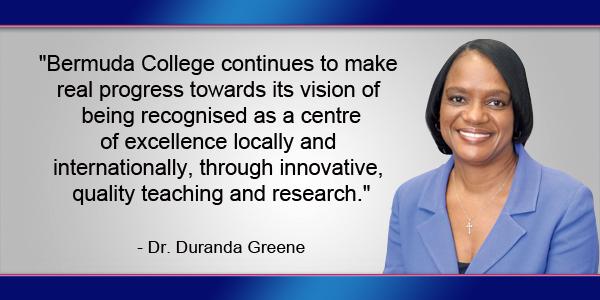 Dr Duranda Greene Bermuda TC September 14 2016