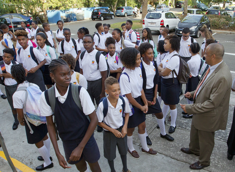Minister First Day School Bermuda Sept 8 2016 3
