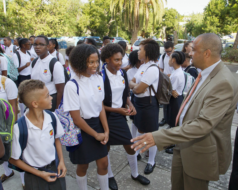 Minister First Day School Bermuda Sept 8 2016 4