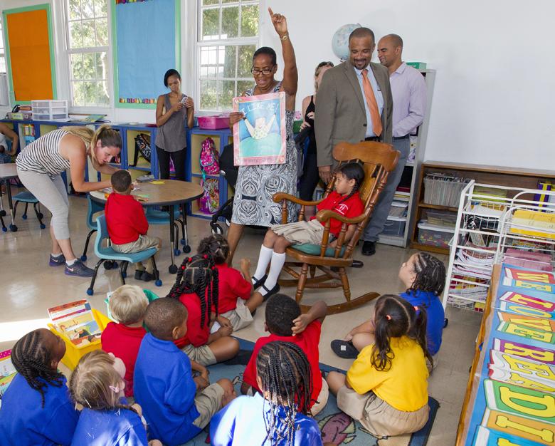 Minister First Day School Bermuda Sept 8 2016 6