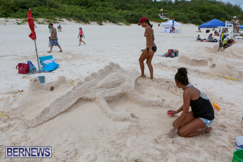 Sand-Sculpture-Competition-Horseshoe-Bay-Beach-Bermuda-September-5-2015-17