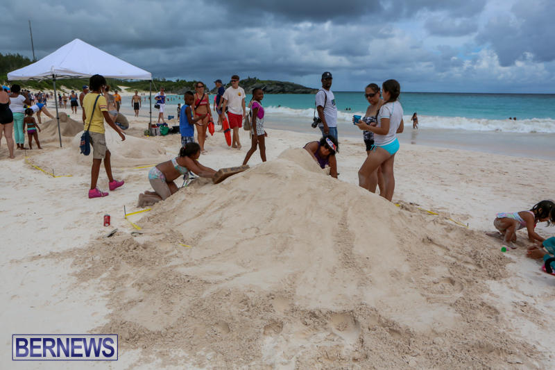 Sand-Sculpture-Competition-Horseshoe-Bay-Beach-Bermuda-September-5-2015-4