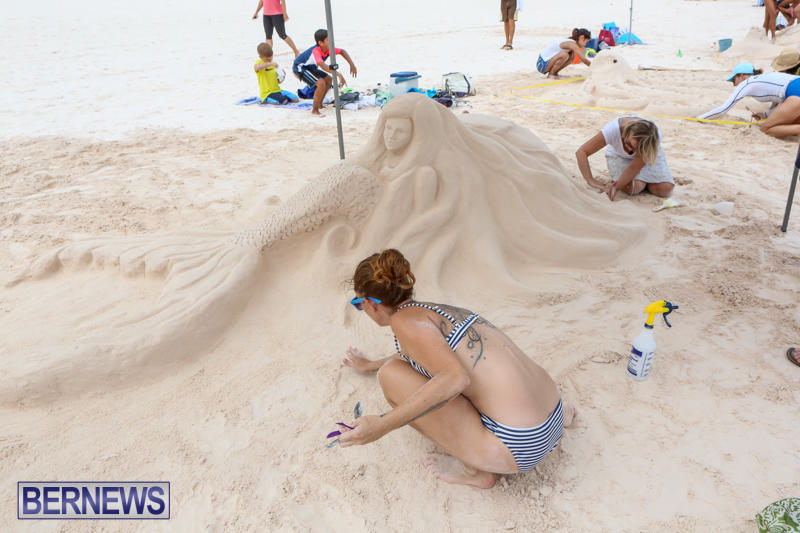 Sand-Sculpture-Competition-Horseshoe-Bay-Beach-Bermuda-September-5-2015-8