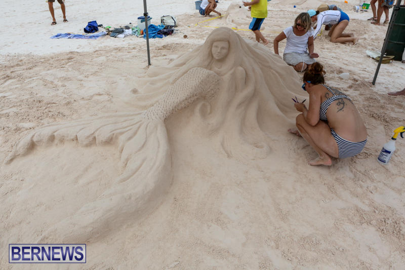 Sand-Sculpture-Competition-Horseshoe-Bay-Beach-Bermuda-September-5-2015-9