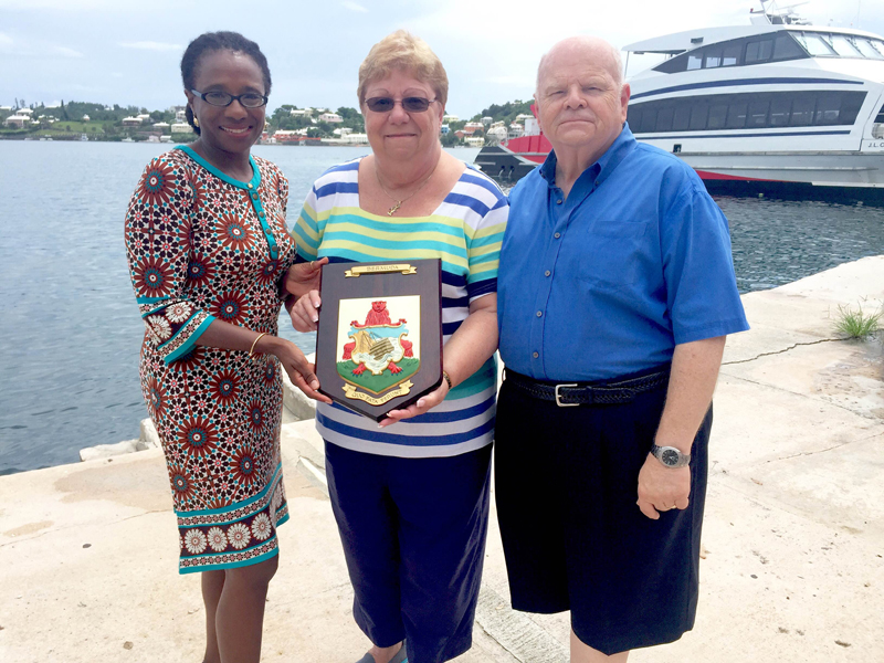 Teasdale now Bermuda Sept 7 2016