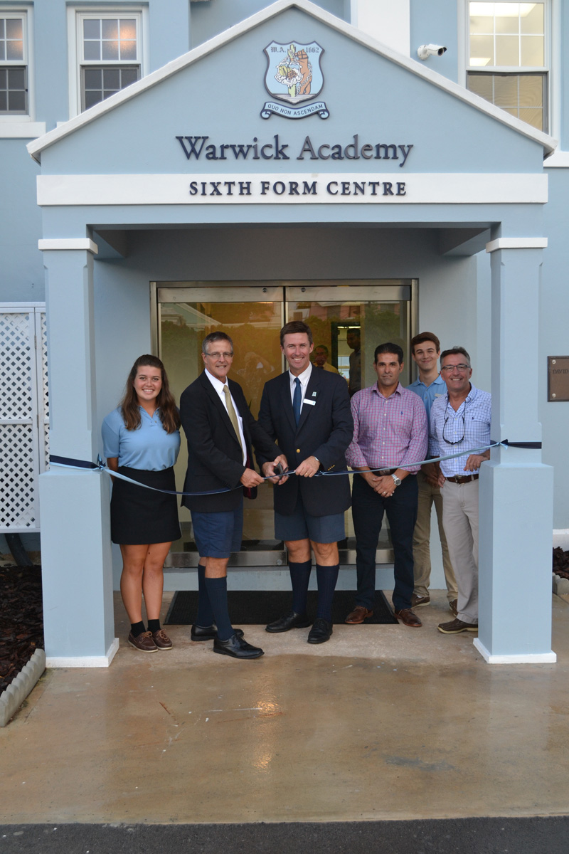 Warwick Academy Ribbon Cutting Bermuda September 21 2016 1