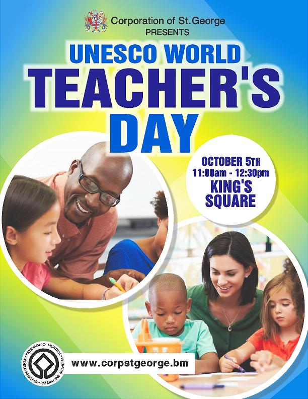 World Teacher Day Bermuda September 21 2016