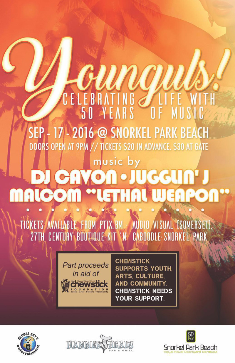 Younguls Celebrating Life with 50 Years of Music Bermuda Sept 12 2016 2