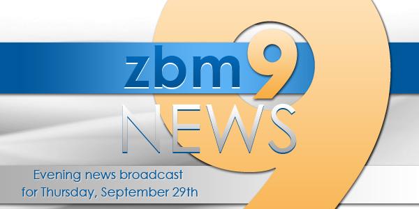 zbm 9 news Bermuda September 29 2016